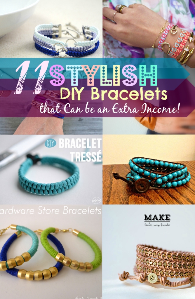 11 diy bracelets that can be an extra income